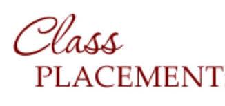 School Organization & Class Placement – 2019-2020